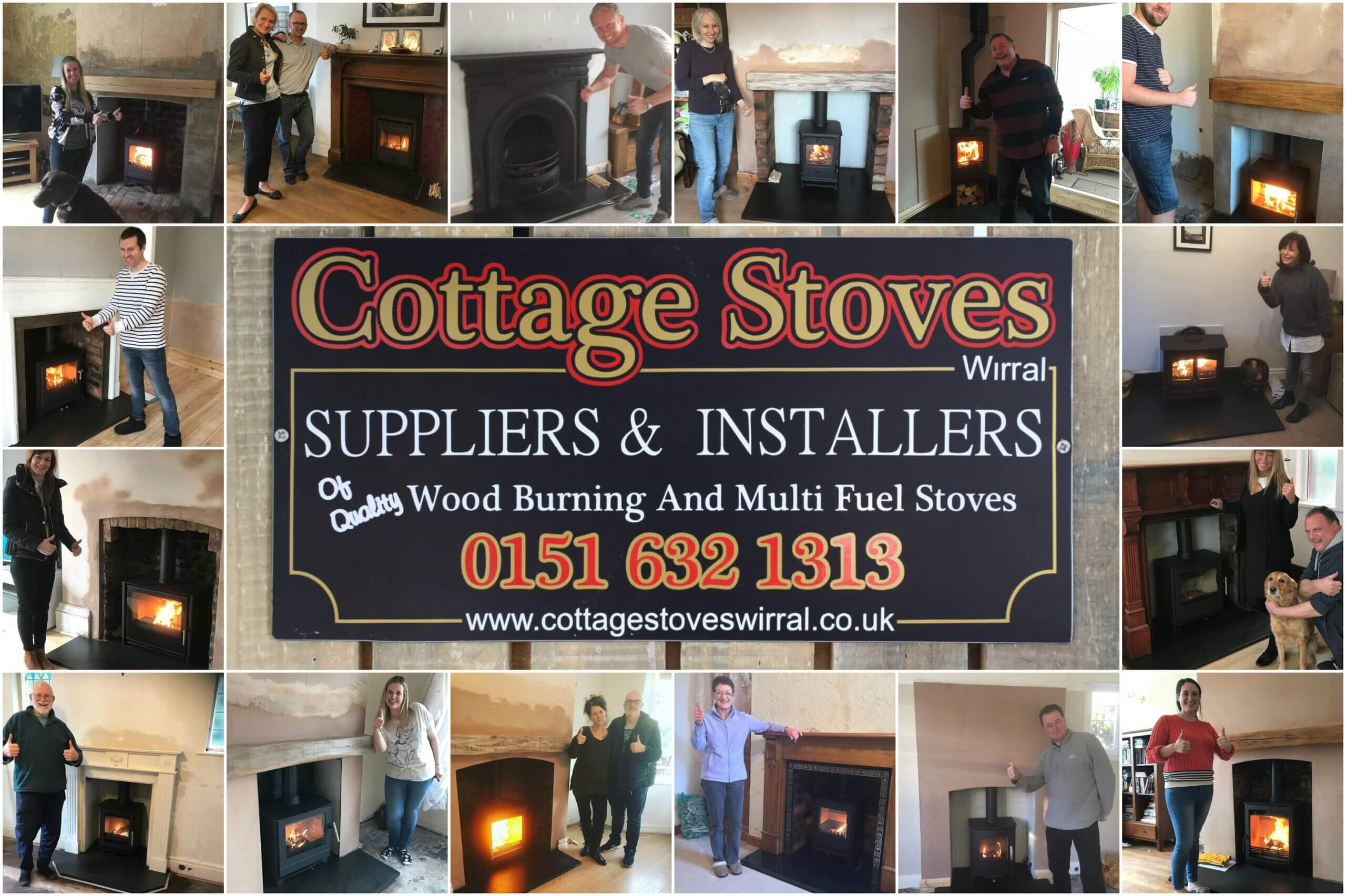 Cottage Stoves Montage